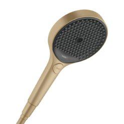 Rainfinity 26864140 Ручной душ 130, 3jet, шлифованная бронза