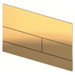 TECEsquare II 9240839 Панель смыва, золотая глянцевая