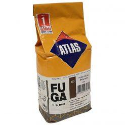 Atlas Fuga 023 Затирка для швов 1-6 мм, пакет 2 кг, коричневый